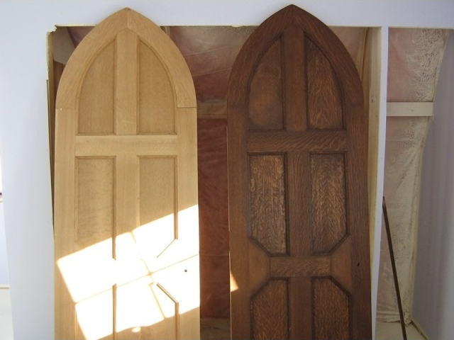 Before & After custom doors