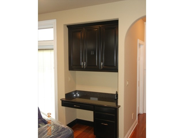 Previously cherry cabinets